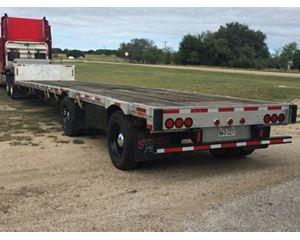 Transcraft Drop Deck Trailer 51x102, Spread Axle
