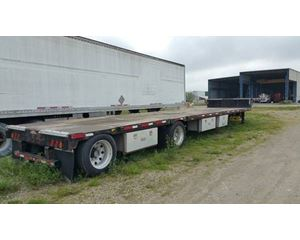 Transcraft Drop Deck Trailer 48x102, Spread Axle, Ramps
