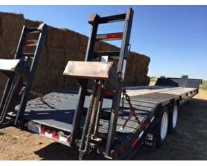 Viking Drop Deck Trailer 46x102, Closed Axle, Beaver Tail, Ramps