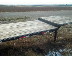 West Wind Drop Deck Trailer 48x96, Closed Axle, Spring Ride