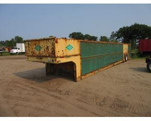 XL Drop Deck Trailer 53x102, Closed Axle, Conestoga