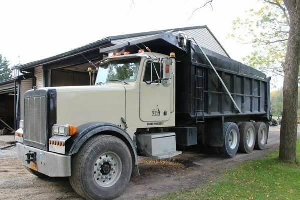 1999 peterbilt 357 cummins m11 400hp tri axle electric for Tarp motors for dump trucks
