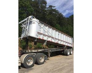 Benson End Dump Trailer 34x96x72, Aluminum, Closed Axle