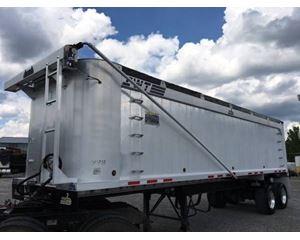 Benson End Dump Trailer 32x102x72, Aluminum, Closed Axle