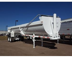 Clements End Dump Trailer 37, Closed Axle, ZX3