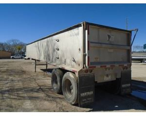 Eaglerock End Dump Trailer 39x54, Closed Axle