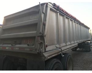 Mate End Dump Trailer 39x102x54, Aluminum, Closed Axle