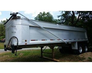 Montone End Dump Trailer 28x96x60, Aluminum, Closed Axle