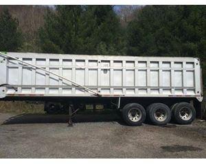 R/S End Dump Trailer 32x96x72, Aluminum, Tri Axle