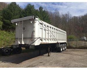 R/S End Dump Trailer 32x72x96, Aluminum, Tri Axle