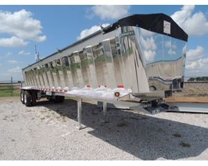 Stephens End Dump Trailer Closed Axle, Aluminum