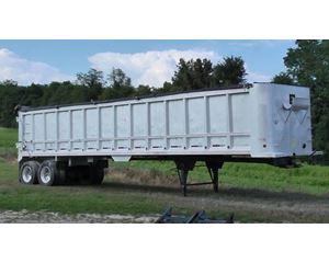 Trail Star End Dump Trailer 40x102x72, Aluminum, Closed Axle