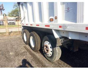 Trailstar End Dump Trailer 35x102x54, Tri Axle, ZX4