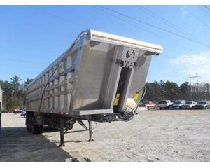 Transcraft End Dump Trailer 76, Tri Axle