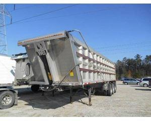 Transcraft End Dump Trailer 35x102x76, Aluminum, Tri Axle