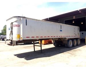 Travis End Dump Trailer 26x102x54, Closed Axle