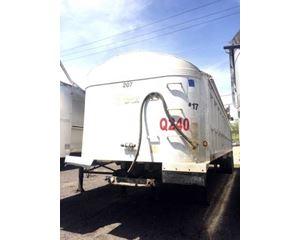 Travis End Dump Trailer 39x96x54, Closed Axle