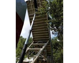 Travis End Dump Trailer 39x102, Aluminum, Spread Axle