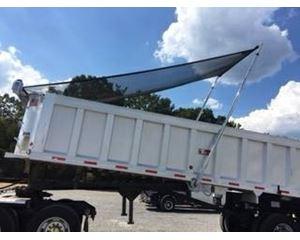 Travis End Dump Trailer 38, Closed Axle