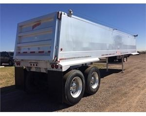 Vantage End Dump Trailer 35x102, Closed Axle
