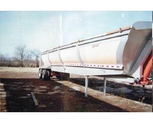 Wink End Dump Trailer 40x102x60, Aluminum, Closed Axle, ZX2