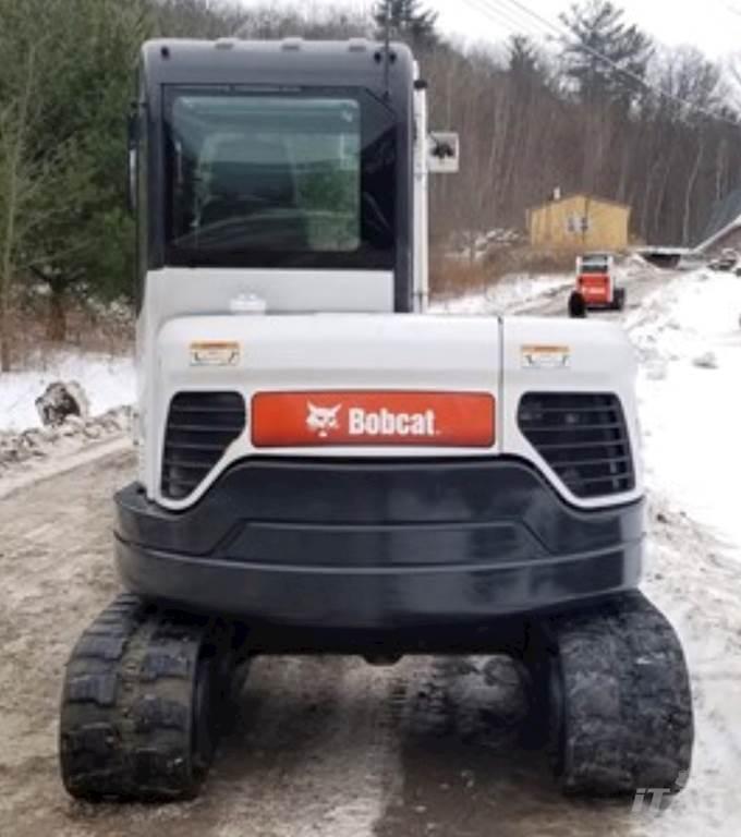 2016 Bobcat E63 Excavator - Hydraulic Thumb, Heat and A/C, 2 Speed Travel