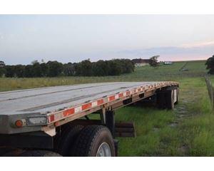 Benson Flatbed Trailer 48x102, Aluminum, Spread Axle