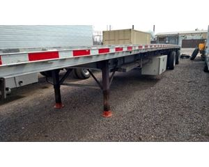 East Flatbed Trailer 48x102, Aluminum, Spread Axle