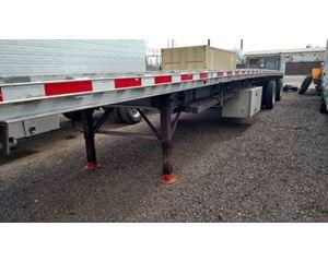 East Flatbed Trailer 48x102, Aluminum, Spread Axle