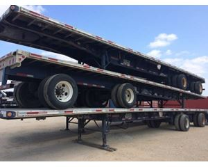Fontaine Flatbed Trailer 48x102, Combo, Spread Axle, ZX14