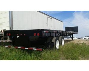 Fontaine Flatbed Trailer 48x102, Closed Axle, ZX3