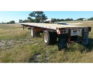 Fontaine Flatbed Trailer 48x102, Combo, Spread Axle