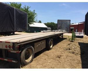 Fontaine Infinity AX Flatbed Trailer 48x102, Combo, Spread Axle