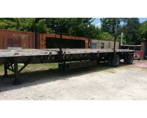 Trail Mobile Flatbed Trailer 48x102, Combo, Sliding Axle