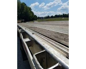 Manac Flatbed Trailer 48x102, Aluminum, Spread Axle