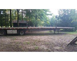 Reinke Flatbed Trailer 48x102, Aluminum, Spread Axle