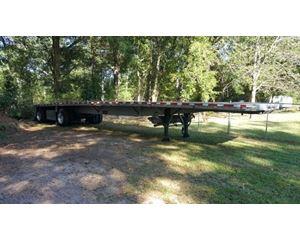 Reitnouer Flatbed Trailer 48x102, Aluminum, Spread Axle
