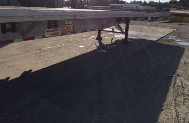 Spread Axle Trailer Weights : Reitnouer flatbed trailer aluminum spread