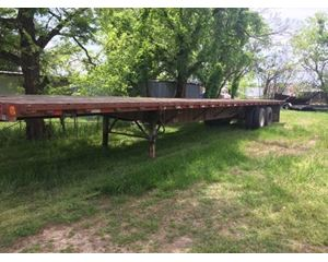 Strick Flatbed Trailer 52x102, Closed Axle