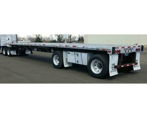 Transcraft Eagle Flatbed Trailer 48x102, Combo, Spread Axle