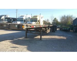 Trail Mobile Flatbed Trailer 48x102, Combo, Spread Axle