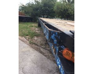 Trail Mobile Flatbed Trailer 45x96, Sliding Axle