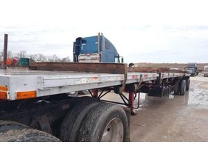 Transcraft Flatbed Trailer 48x96, Combo, Spread Axle