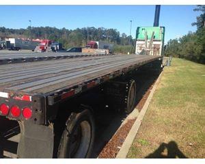 Transcraft Flatbed Trailer 48x102, Combo, Spread Axle