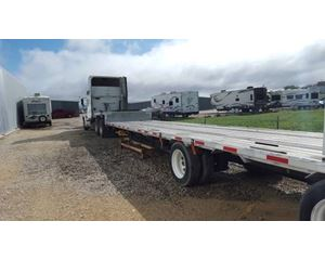 Transcraft Flatbed Trailer 53x102, Combo, Spread Axle
