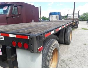 Transcraft Flatbed Trailer 48x102, Spread Axle