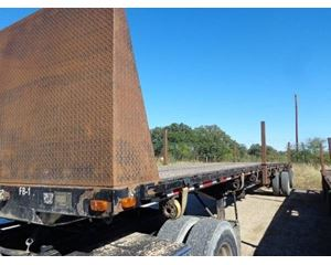 Transcraft Flatbed Trailer 48x102, Combo, Spread Axle