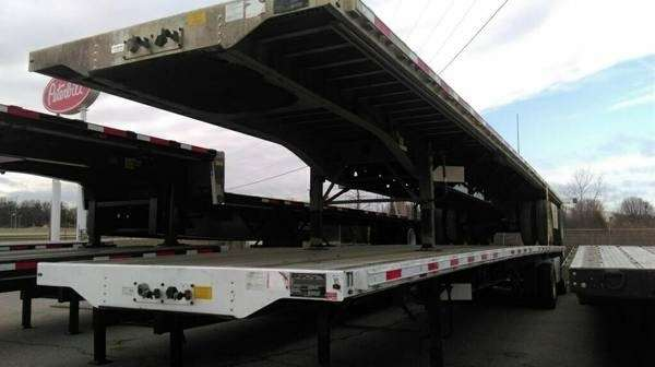 similiar transcraft trailer lights keywords 2013 transcraft flatbed trailer 48x102 combo sp axle for