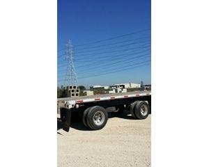 Utility Flatbed Trailer 48x102, Combo, Spread Axle