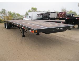 XL Specialized Flatbed Trailer 53x102, Sliding Spread Axle, Cal Legal